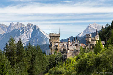 Castle Seefeld by Behindmyblueeyes