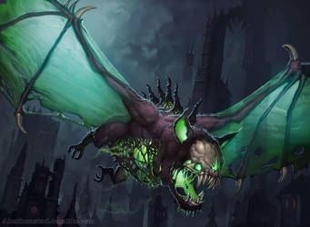 Necrotic Bat by AlexKonstad