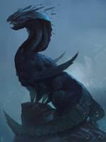 The Dragon God by AlexKonstad