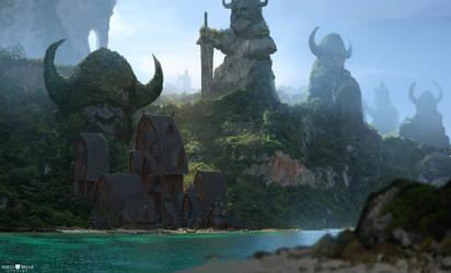 Valhallan Coast - BIERZERKERS! by AlexKonstad