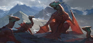 The Dragons Roost by AlexKonstad