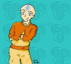 older!Aang by MatveyJeevas