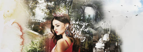 Miranda Kerr Facbook Cover by ForeveRihanna