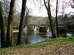 Bridge on the Petite Creuse by WendyMitchell