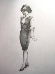 1960s Cassandra Cain (Formal) by AaronNSN