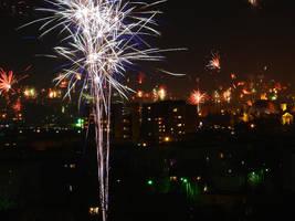 Fireworks by thegreeneye