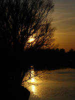 Sunset over Brda by thegreeneye