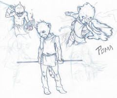 Poma Sketches by ronaproject