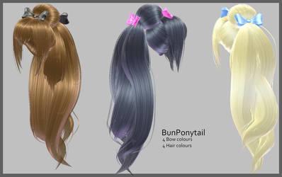Ponytail -DL by Littlemisshorror