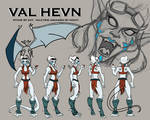 Val Hevn - Gargoyles by pluckyantihero