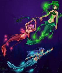 Frolicking in the Deep by timing2