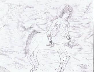 Galloping Droumetake by centaurfreak
