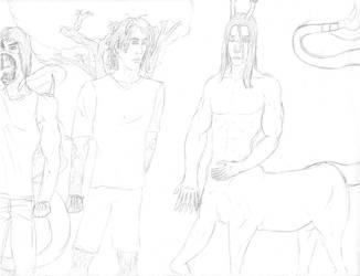 Aliens from my Story by centaurfreak