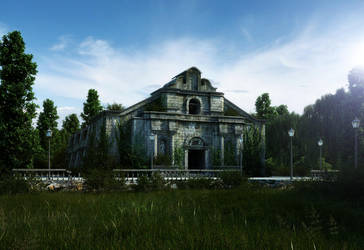 an Old Church by biz-kong