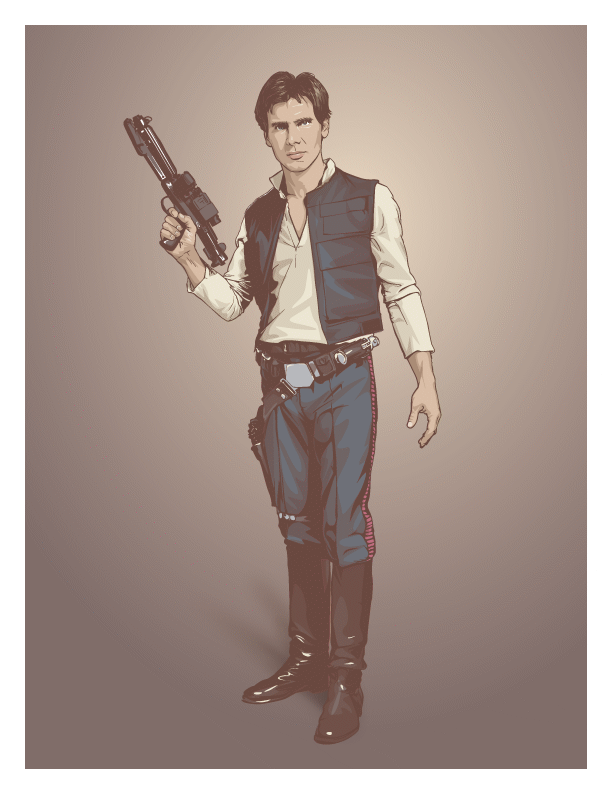 Han Solo by verucasalt82