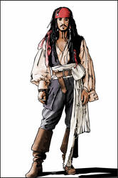 CAPTAIN Jack Sparrow by verucasalt82