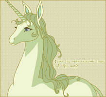 The Last Unicorn by verucasalt82