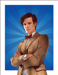 Eleventh Doctor by verucasalt82