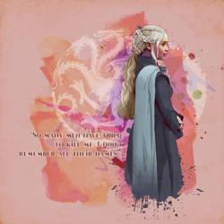 Daenerys Targaryen by verucasalt82