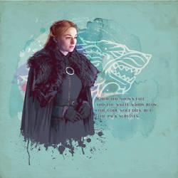 Sansa Stark by verucasalt82
