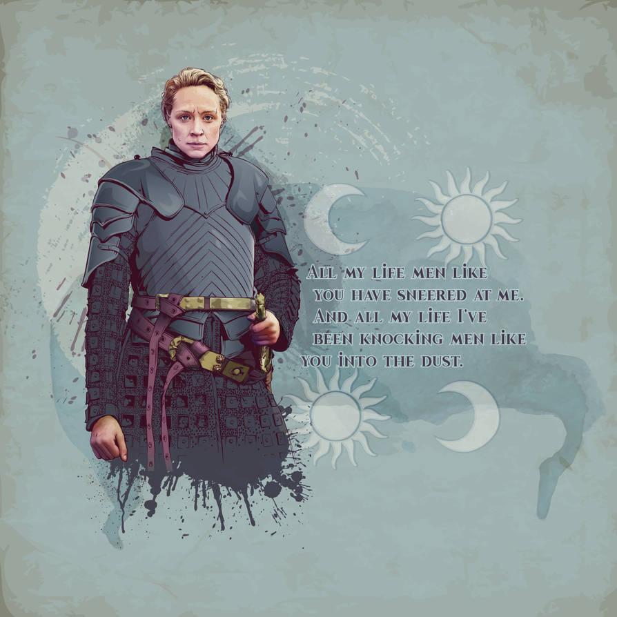 Brienne of Tarth by verucasalt82