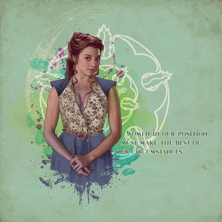 Margaery Tyrell by verucasalt82