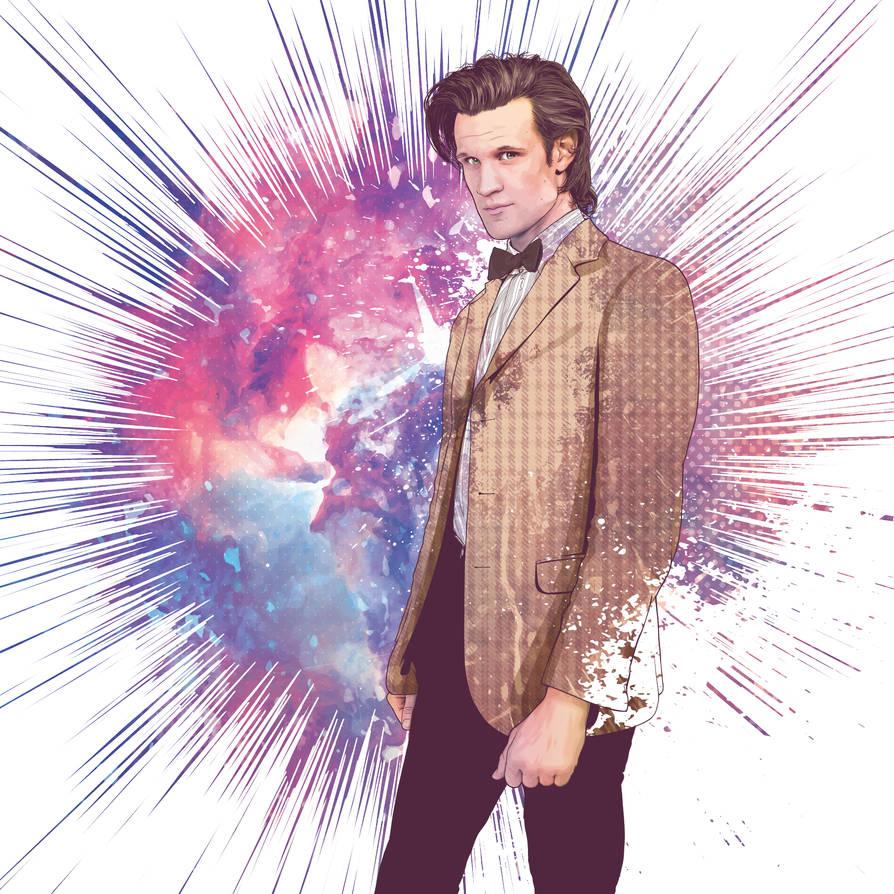 The Eleventh Doctor by verucasalt82