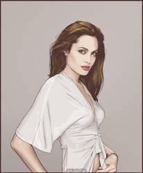 More Angelina Jolie by verucasalt82