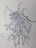 Hyatamqqua god of fear by GabriM3