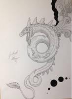 Cetum god of heavens by GabriM3