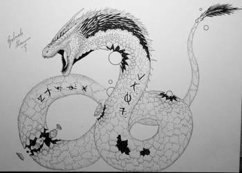 Stellar Dragon by GabriM3