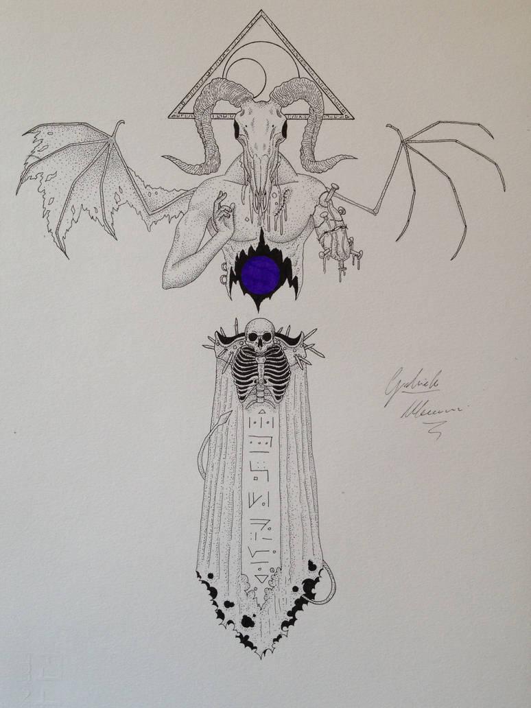 Amael - corrupted angel of desperation by GabriM3