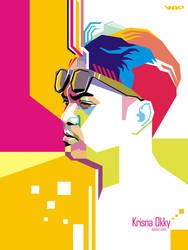 Krisna Okky Pop Art WPAP by ndop
