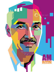 dr. Achmad POP ART by ndop