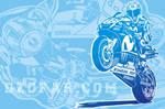 Vector Valentino Rossi Line Art by ndop
