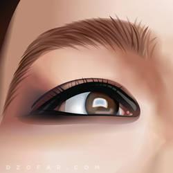 Bjorks Eye Vector by ndop