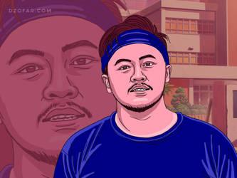 Big boy doodle  by ndop