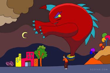 Monster Jump Moo by ndop