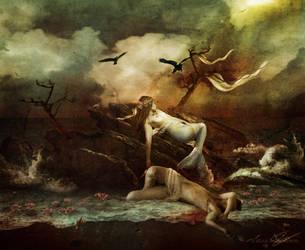 Die kleine Meerjungfrau by Toefje-Kunst