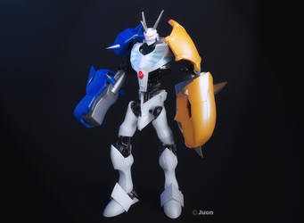 omnimon custom by janu-onliners