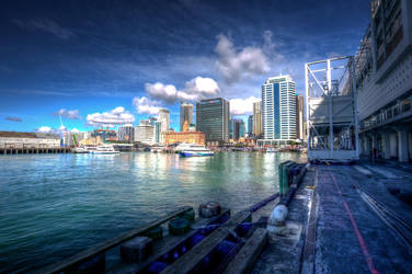 Auckland Harbour HDR by MisterDedication