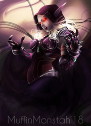Banshee Queen by MuffinMonstah