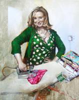 Julie Burning Her Knickers by morganpenn