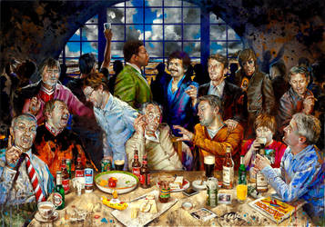 Last Supper by morganpenn