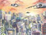 Cityscape by jcling