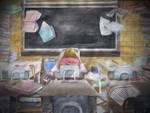 School Stress by jcling