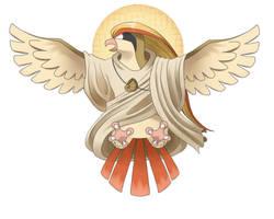 Bird Jesus by jcling