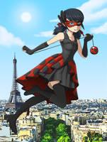 Miraculous Ladybug! Alternative Ladybug Outfit by jcling