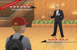 President Trump VS Trainer Barron by jcling