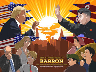 Donald Trump vs Kim Jong Un by jcling
